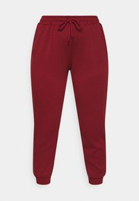 ONLY Play - ONPLOUNGE PANTS CURVY - Tracksuit bottoms - sun dried tomato - 0