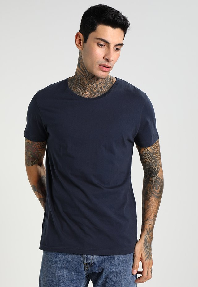 ORIGINAL ROUNDNECK - Basic T-shirt - navy