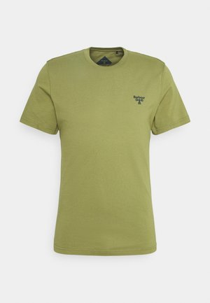SMALL LOGO TEE - Basic T-shirt - military olive