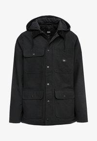 MN DRILL CHORE COAT MTE - Light jacket - black