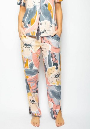 Pyjama bottoms - grey peach