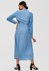 Selected Femme - Vestito lungo - light blue - 2