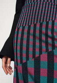 Diane von Furstenberg - SKIRT - Pencil skirt - grape/purple/green - 4