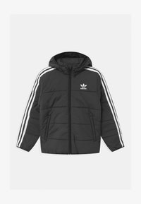 adidas Originals - PADDED UNISEX - Light jacket - black/white - 0
