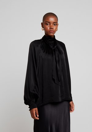 MONA BLOUSE - Blus - black