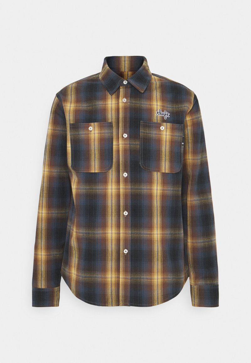 HUF - SANFORD  - Shirt - rich brown