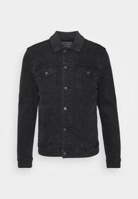 TRUCKER - Denim jacket - black