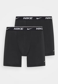 Nike Underwear - BOXER BRIEF 2PK COTTON STRETCH - Onderbroeken - black - 2