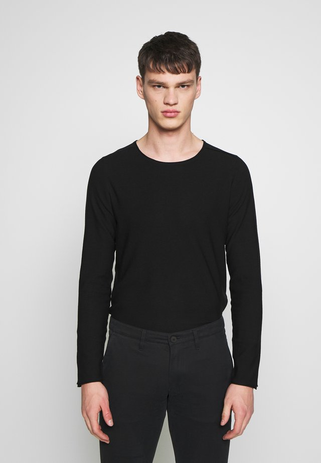 RIK - Strickpullover - black