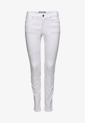 MIT ORGANIC COTTON - Slim fit jeans - white