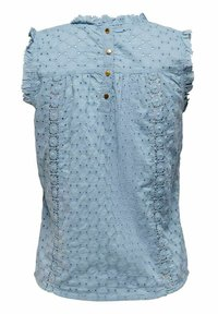 ONLY - Blus - faded denim - 4
