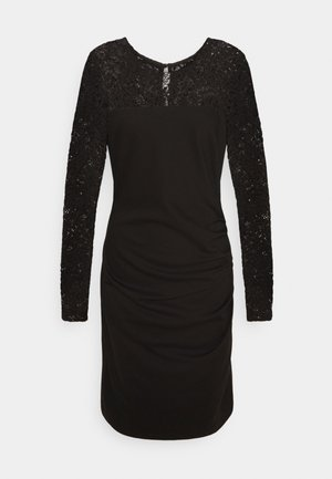 KADOLIA INDIA DRESS - Pouzdrové šaty - black deep