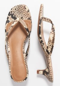 Who What Wear - SIENA - Flip Flops - natural - 3