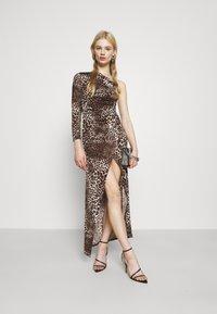 TFNC - JADA - Společenské šaty - dark brown - 1