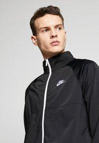 Nike Sportswear - SUIT - Tracksuit - black/white - 4