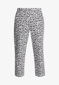 Obey Clothing - HARDWORK FUZZ PANT - Jeans relaxed fit - black multi - 5