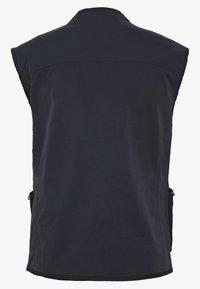 Schott - ROY X - Waistcoat - black - 1