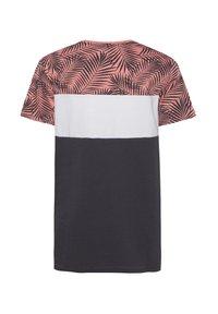 WE Fashion - MIT HD-SCHRIFTZUG - Print T-shirt - anthracite - 1