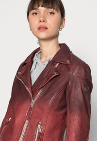 Gipsy - KANDY LAMOV - Leather jacket - ox red - 4