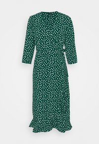 Vero Moda - VMHENNA WRAP CALF DRESS - Kjole - pine grove - 3