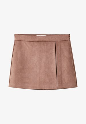 A-line skirt - rose gold