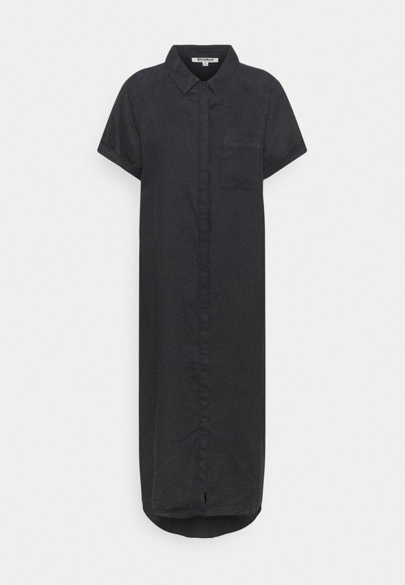 Ecoalf - LYCHEE DRESS WOMAN - Shirt dress - caviar