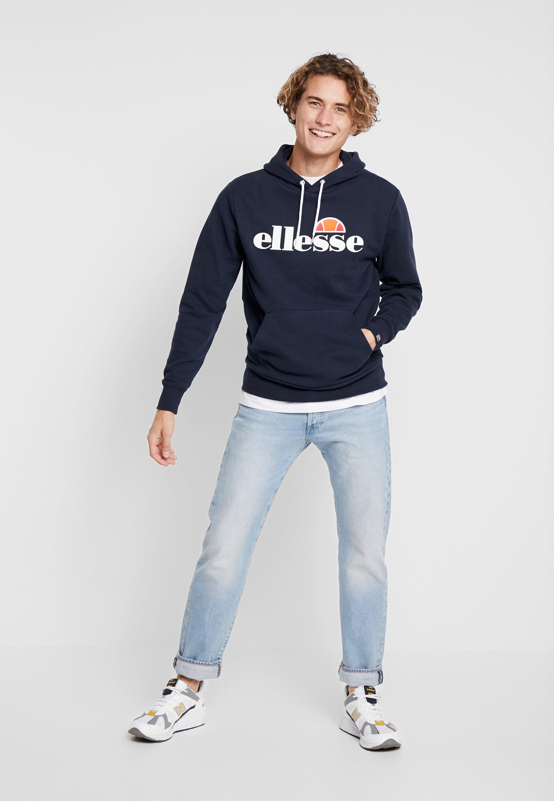 Ellesse Gottero - Hoodie Navy/mørkeblå