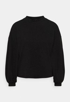 VMALFIE DROP SHOULDER - Long sleeved top - black