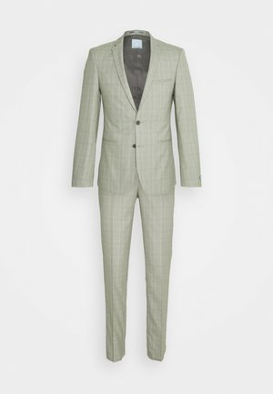 SVENSKT SLIM SUIT - Kostuum - light grey