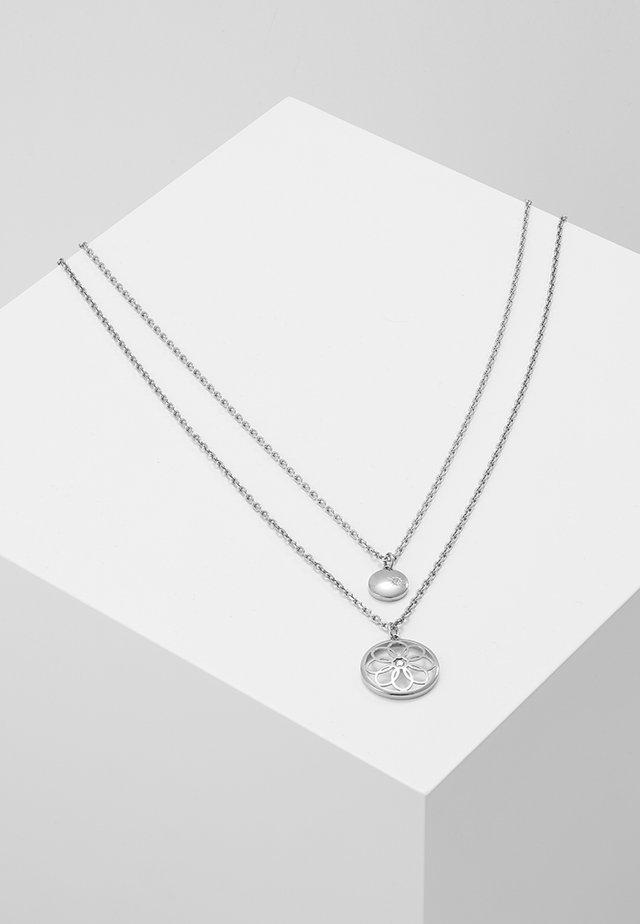 CASUAL CORE - Necklace - silver-coloured