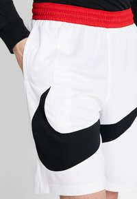 Nike Performance - DRY SHORT - Träningsshorts - white/black - 4