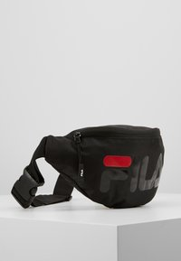 Fila - BELT BAG MARTIA - Bum bag - black - 3