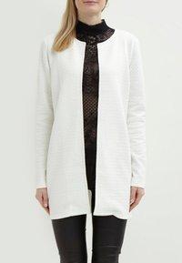 Vila - VINAJA NEW LONG JACKET - Summer jacket - white - 1