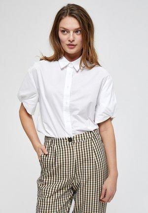 NOELLE - Button-down blouse - white