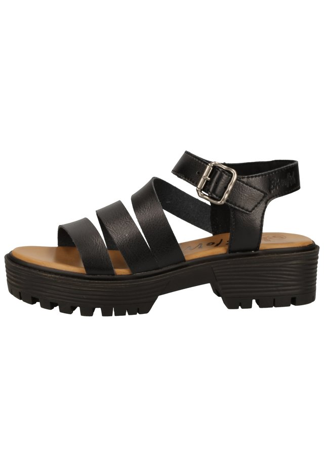 BLOWFISH SANDALEN - Platform sandals - black  024