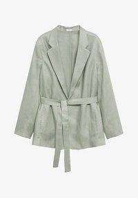 Violeta by Mango - POLLITO8 - Short coat - verde menta - 5