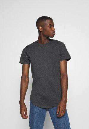JJENOA - Camiseta básica - dark grey melange