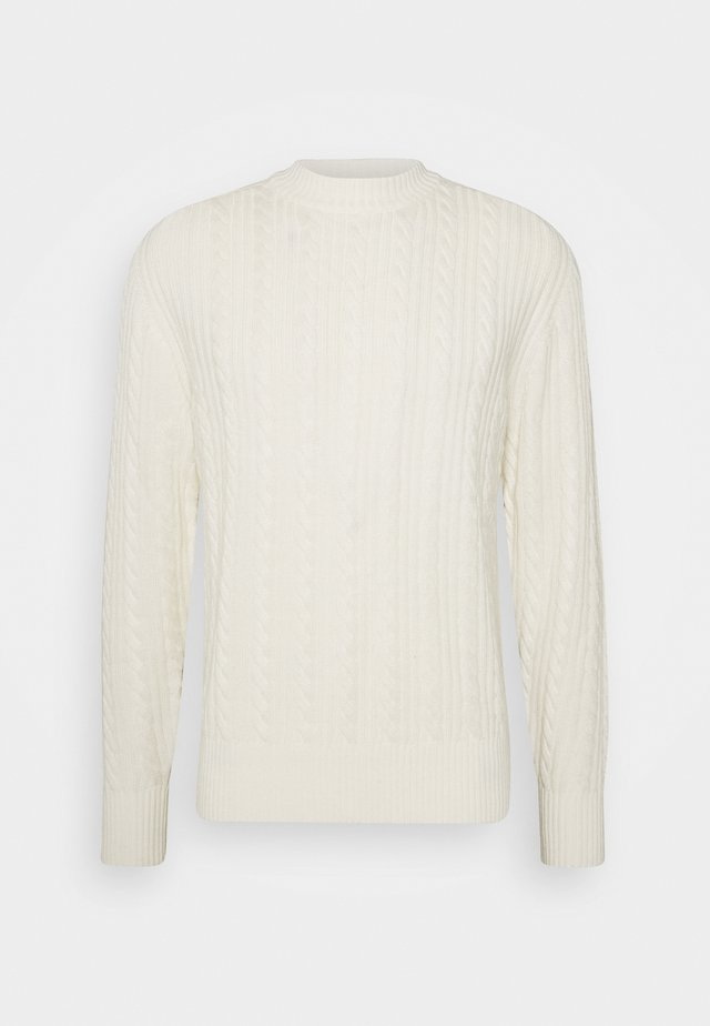 HENRY CABEL SWEATER - Pullover - cloud white