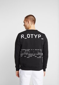 STEREOTYPE - INSTRUSTIONS CREW - Mikina - black - 2