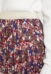 NAF NAF - LECAMPUS - Pliceret nederdel /Nederdele med folder - imprime - 4
