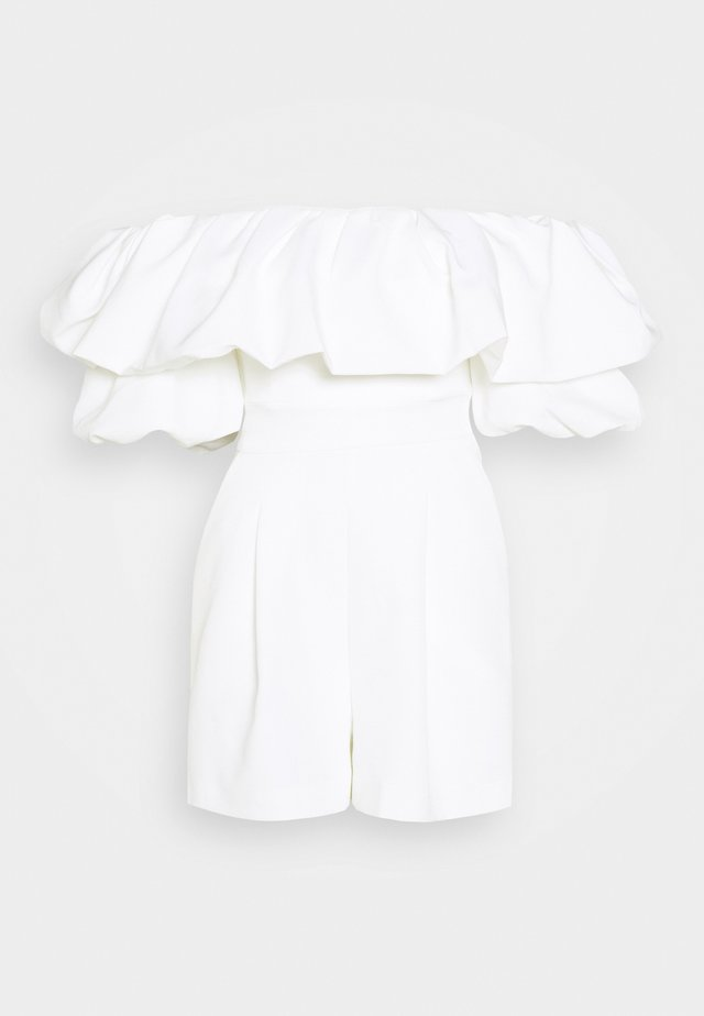 MARTHA OFF SHOULDER PLAYSUIT - Combinaison - porcelain