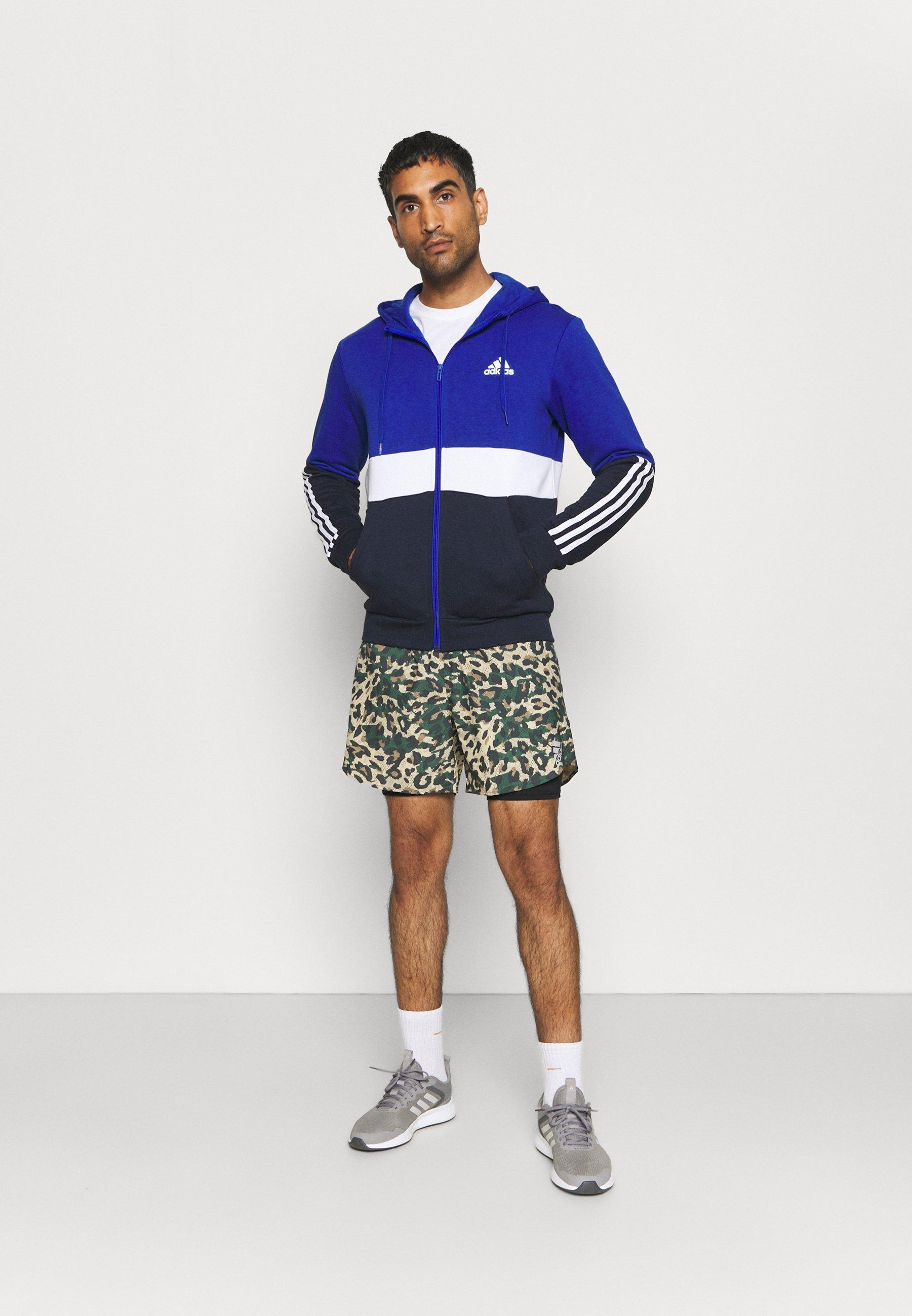 Men COLORBLOCK FULL ZIP ESSENTIALS - Zip-up sweatshirt
