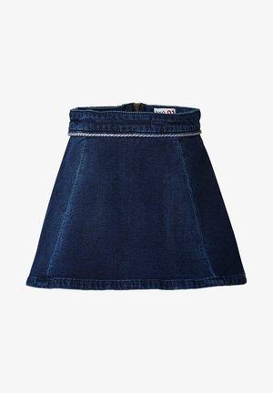 MANGAUNG   - A-line skirt - dark blue