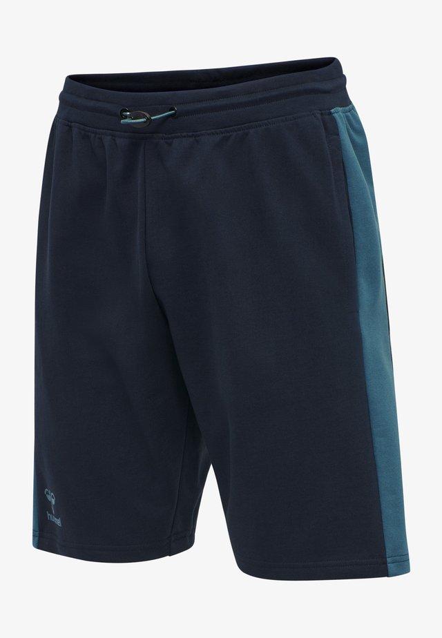 Short de sport - dark sapphire/blue coral