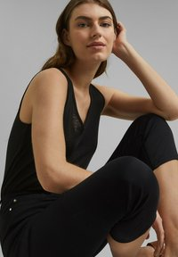 Esprit Collection - Trousers - black - 5