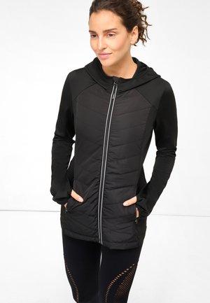 MIT KAPUZE - Light jacket - schwarz