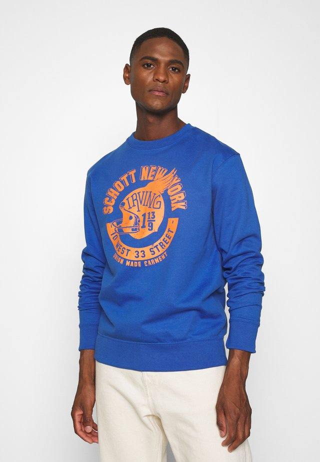 Sweater - royal blue