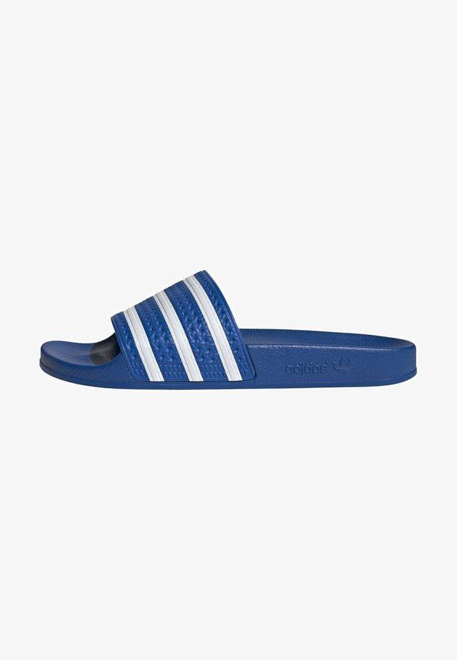 ADILETTE UNISEX - Mules - glory blue/ftwr white/glory blue