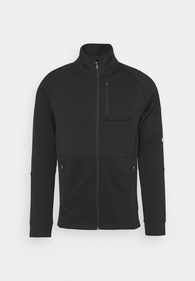 EVOSTRIPE TRACK JACKET - Zip-up hoodie - black