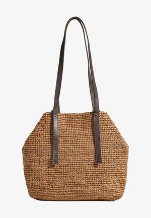 RAPHIA  - Tote bag - camel
